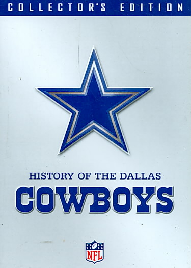 NFL HISTORY OF THE DALLAS COWBOYS (DVD) [2 DISCS]